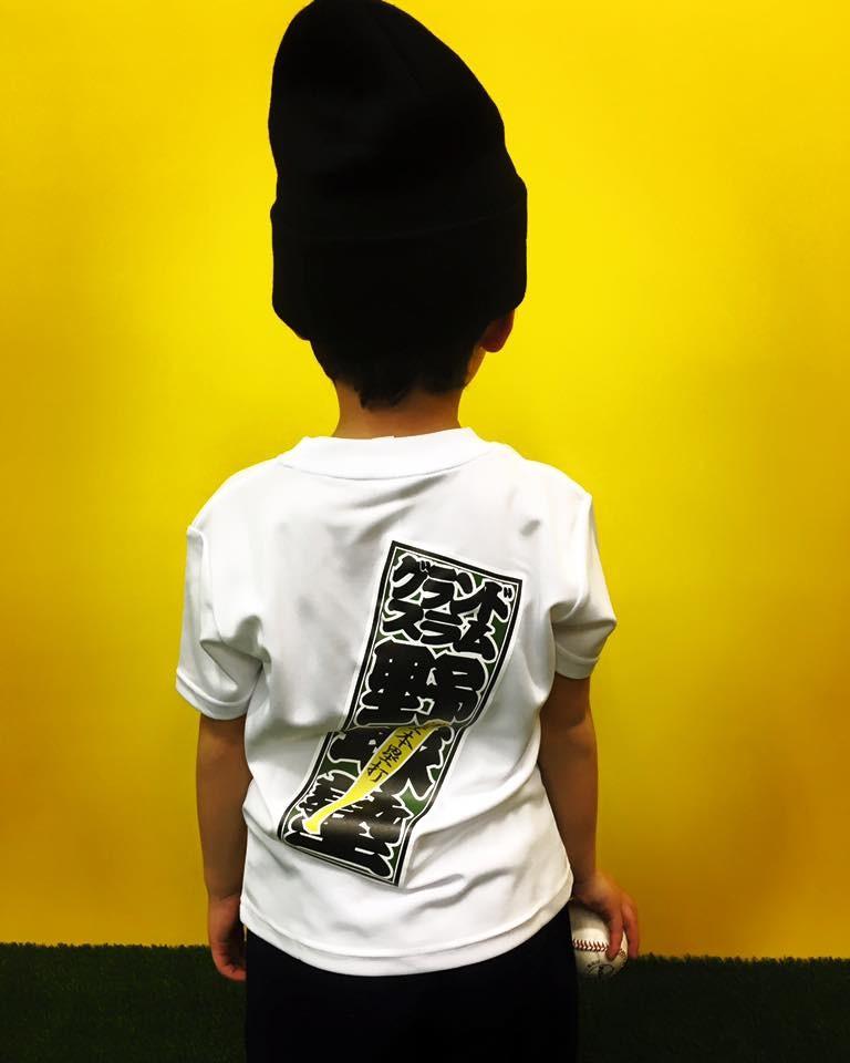 野球塾千社札Tシャツ
